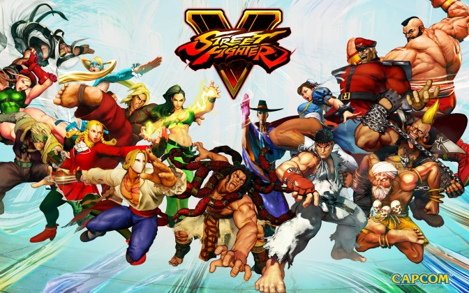 street-fighter-5-launch-roster